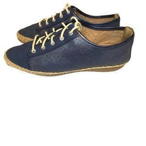 Clarks artisan navy blue  flat Shoes